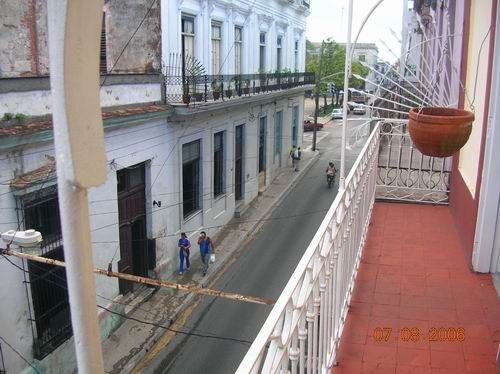 'Balcony1' Casas particulares are an alternative to hotels in Cuba.