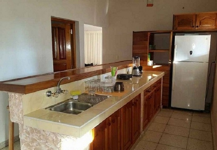 'Kitchen' Casas particulares are an alternative to hotels in Cuba.