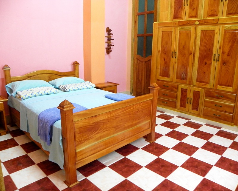 'Room01' Casas particulares are an alternative to hotels in Cuba.