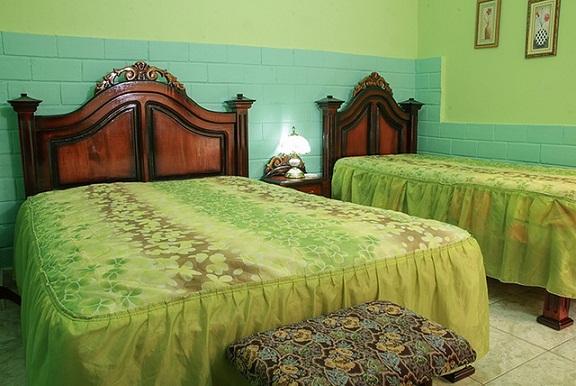 'Habitacion 1' Casas particulares are an alternative to hotels in Cuba.