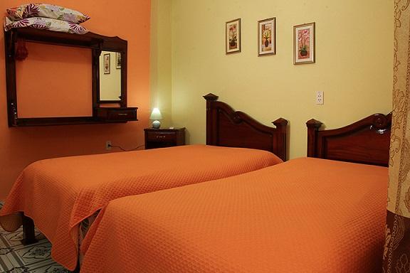 'Habitacion 2' Casas particulares are an alternative to hotels in Cuba.