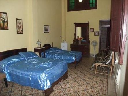 'Habitacion' Casas particulares are an alternative to hotels in Cuba.