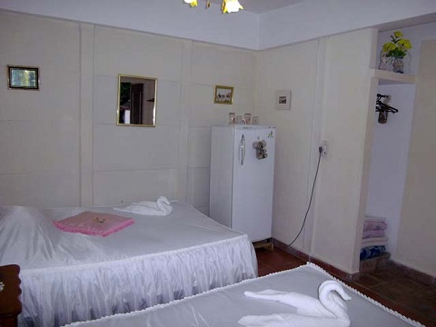 'Bedroom' Casas particulares are an alternative to hotels in Cuba.