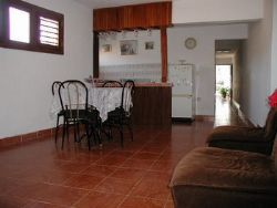 'dining ' Casas particulares are an alternative to hotels in Cuba.