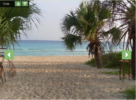 'Beach just 3 minutes walking' Casas particulares are an alternative to hotels in Cuba.