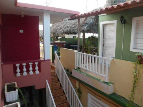 'View of the house' Casas particulares are an alternative to hotels in Cuba.