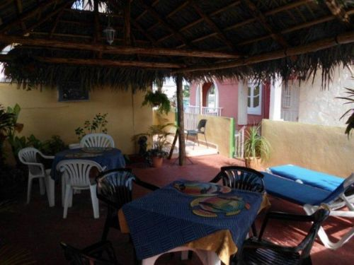'Terraza comun' Casas particulares are an alternative to hotels in Cuba.