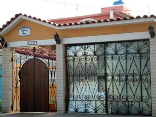 'Main entrance' Casas particulares are an alternative to hotels in Cuba.