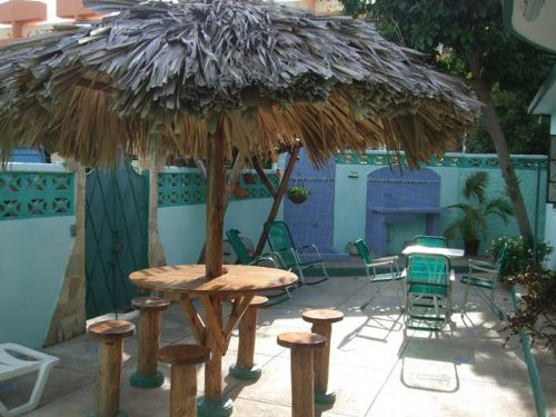 'Back Yard' Casas particulares are an alternative to hotels in Cuba.