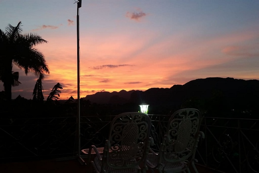 'Sunset view' Casas particulares are an alternative to hotels in Cuba.