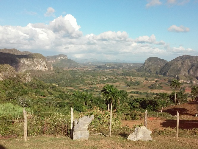 'View of the mountains' Casas particulares are an alternative to hotels in Cuba.