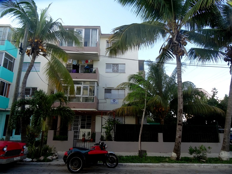 'The building' Casas particulares are an alternative to hotels in Cuba.