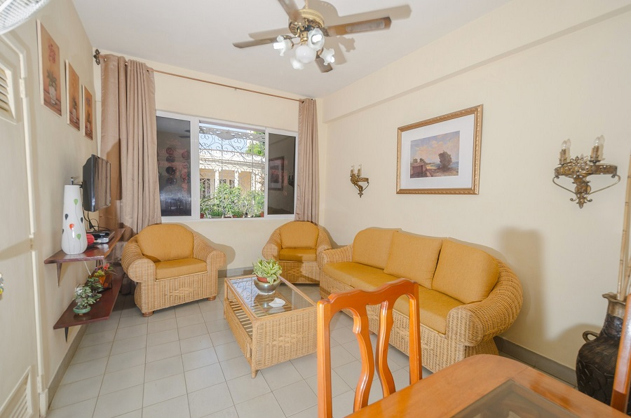 'Livingroom1' Casas particulares are an alternative to hotels in Cuba.