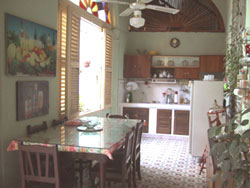 'Comedor' Casas particulares are an alternative to hotels in Cuba.